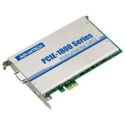 Advantech - PCIE-1802-AE - PCI Express Card, Dynamic Signal Acquisition, 8 Channel, 24 Bit, 216 kS/s