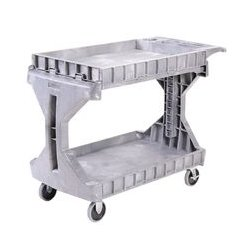 Akro-Mils / Myers Industries - 30936GREY - Cart, Utility, ProCart, Large, 400lb Max Load