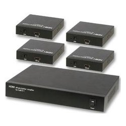 MCM Electronics - 50-15010 - Active HDMI Balun / Extender - Single Cat5E - with 1x4 Splitter