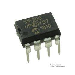 Microchip - PIC10F200-I/P - 8 Bit Microcontroller, Flash, PIC10F2xx, 4 MHz, 384 Byte, 16 Byte, 8 Pins, DIP