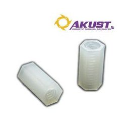 Akust Technology - SK03-0026-AKS - Threaded PCB Spacer 6-32 x 12mm