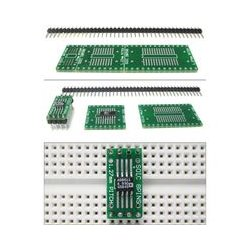 SchmartBoard - 204-0004-01 - EZ 1.27mm Pitch SOIC to DIP Adapter