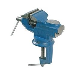 Duratool - D00099 - Table Vise, 66, Heat Treated Jaws, 3 Jaw Opening, 360 Swivel Base