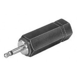 MCM Electronics - 27-320 - Audio Adaptor, Stereo Receptacle - 3.5mm, Mono Plug - 3.5mm