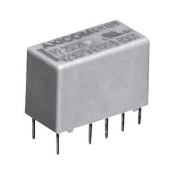TE Connectivity - V23079B1218B301 - Signal Relay, DPDT, 2.4 VDC, 2 A, P2/V23079 Series, Through Hole, Latching Dual Coil