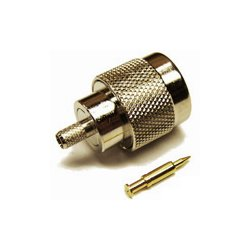 Wincomm - CON-CX100-NM - N-Male connector for LMR(R)-100/RG174 1/8 coaxial cable, SOI