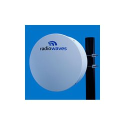 Radio Waves - HP2-77RR - 2' (0.6m) High Performance Dish Antenna, 7.125-8.5GHz, Rectangular CPR112G Flange, SOI