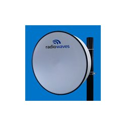 Radio Waves - HP3-23EX - 3' (0.9m) High Performance Dish Antenna, 21.2-23.6GHz, Direct-Fit to Exalt ExtendAir/ ExploreAir ODU, SOI
