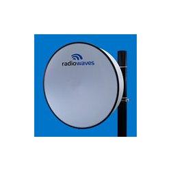 Radio Waves - HP3-6EX - 3' (0.9m) High Performance Dish Antenna, 5.925-7.125GHz, Direct-Fit to Exalt ExtendAir/ ExploreAir ODU, SOI