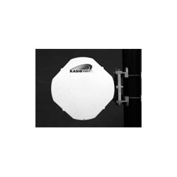 Radio Waves - HPCPED-23 - 1' (0.3m) High Performance Dish Antenna, Low Profile, Dual Polarized, 21.2-23.6GHz, Discriminator Series(tm), WR42 Flange, SOI