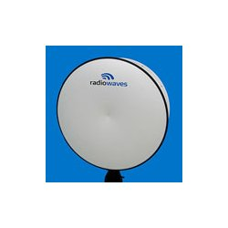 Radio Waves - HPD4-23 - 4' (1.2m) High Performance Dish Antenna, 21.2-23.6GHz, Dual Polarized, WR42 Flange, SOI