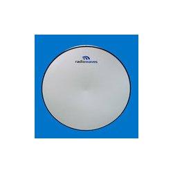 Radio Waves - HPD6-64 - 6' (1.8m) High Performance Dish Antenna, 6.425-7.125GHz, Dual Polarized, CPR137G Flange, SOI