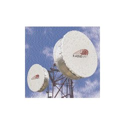 Radio Waves - SHP6-5.9 - 6' (1.8m) Ultra High Performance Dish Antenna, 5.925-6.425GHz, CPR137G Flange, SOI