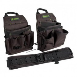 Greenlee / Textron - 0158-16 - Greenlee 0158-16 Pouch - Belt Combo 3PC