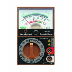 Southwire - 10010S - Southwire Tools Equipment 10010S Analog Multimeter