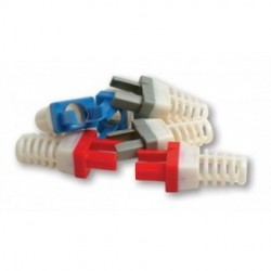 Platinum Tools - 10030BK-C - Platinum Tools 10030BK-C Strain Relief for Cat6, (Black). 50/ Pack