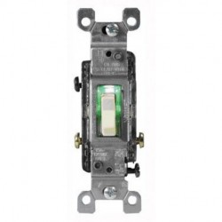 Cooper Wiring Devices - 1303-7LTV - Cooper Wiring Devices 1303-7LTV Toggle Lighted Switches