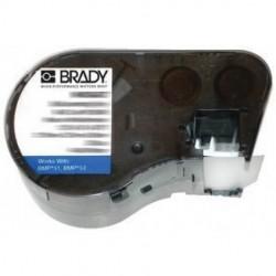 Brady - M-11-427 - Brady Label/Ribbon Kit - Black, White - 360 / Roll