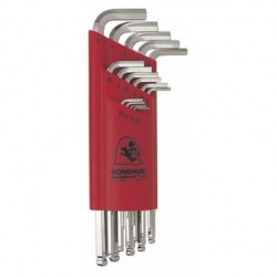 Bondhus - 17095 - Bondhus 17095 Set of 15 Balldriver L-wrenches with BriteGuard Finish