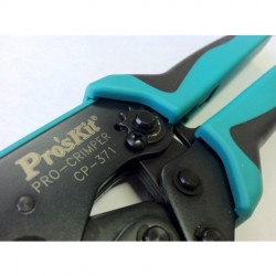 Eclipse Tools - 1PK-3003FD27 - Eclipse Tools Crimper Ergo-Lunar Insulated Terminals 22-8 AWG