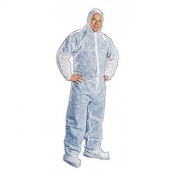Tians - 200881-4xl - Epic 200881-4xl Coveralls, White Polypro, Hb, Ew, 4xl 25/case