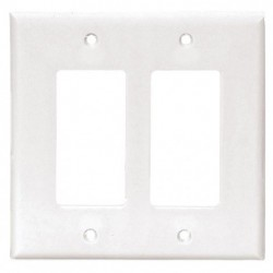 Cooper Wiring Devices - 2052W-BOX - Cooper Wiring Devices 2052W 2-Gang Mid Size Decorator/GFCI Thermoset