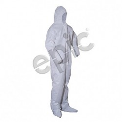 Tians - 206893-4XL - Epic 206893-4XL COVERALLS, WHITE SMS, HB, EW, EB, 4XL 25/case