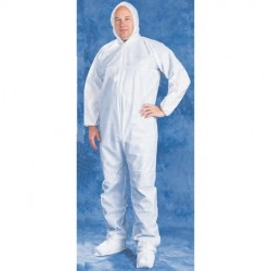 Tians - 206893-M - Epic 206893-M COVERALLS, WHITE SMS, HB, EW, EB, MED 25/case