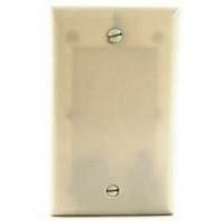 Cooper Wiring Devices - 2129A - Cooper Wiring Devices 1G BLANK PLATE - ALMOND (Pack of 25)