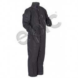 Tians - 215483-m - Epic 215483-m Coveralls, Gray Polypro, Collar, Ew, Eb, Med 25/case