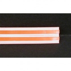Taperwire - 220-25 - Taperwire 220-25 Adhesive Back, 20 AWG2 Conductor Flat Copper Wire