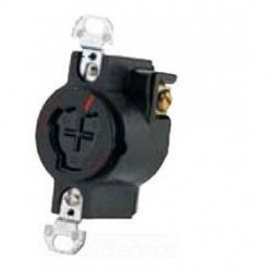 Cooper Wiring Devices - 23000G - Cooper Wiring Devices 23000G Recp Powerlock 20A 125V 3P3W Grd BK