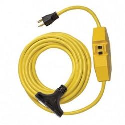 Coleman Cable - 26020148-1 - Coleman Cable 26020148-1 12/3 SJTW Inline GFCI NEMA 5-15 P / TriSource