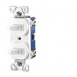 Cooper Wiring Devices - 275LA-BOX - Cooper Wiring Devices 275LA-BOX Switch Duplex Comb SP/3Way 15A 120V LA