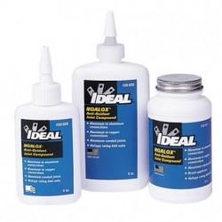 IDEAL Electrical / IDEAL Industries - 30-031 - Ideal 30-031 Noalox Anti-Oxidant Compound 8 oz. Bottle with Brush in C
