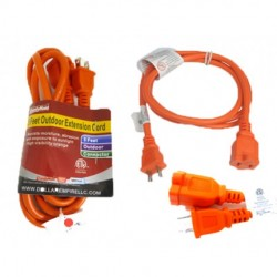 Family Maid - 32720 - Family Maid EXT CORD 5FT OUTDOOR 2PRONG sold 24 per ZACK-box