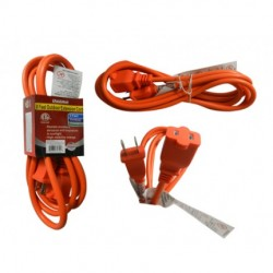 Family Maid - 32721 - Family Maid EXT CORD 8FT OUTDOOR 2 PRONG sold 24 per ZACK-Carton