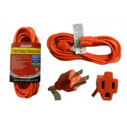 Family Maid - 32744 - Family Maid Ext Cord Outdoor 25ft 3prong
