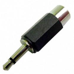 Calrad - 35-538-P - Calrad Electronics 35-538-P RCA JACK TO 3.5 MONO PLUG ADAPTER