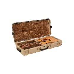 SKB Cases - 3I-4217-18-T - SKB 3i-4217-18-T iSeries Waterproof Acoustic Guitar Case (tan)