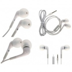 Calrad - 42-140 - Calrad Electronics 42-140 iPhone Stereo Headset with Microphone 3' Lo