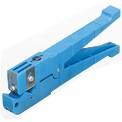 IDEAL Electrical / IDEAL Industries - 45-164 - Cable Stripping Tool for Coaxial Cables, Four Adjustable Blades, 6.35mm to 14.28mm Capacity