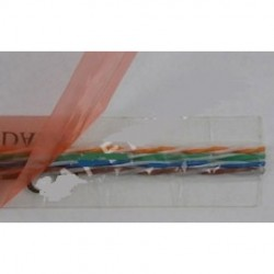 Taperwire - 568B-50 - Taperwire 568B-50 Adhesive Back, 24AWG8 Conductor Flat Wire