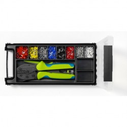 Rennsteig Tools - 610 904 - Rennsteig 610 904 Ferrule processing Set - TCS