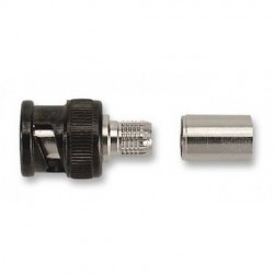 Pomona Electronics - 6703A - Pomona 6703A RF-Coaxial BNC Plug STR 75Ohm Crimp (Pack of 5)