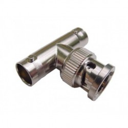 Calrad - 75-690 - Calrad 75-690 T Adapter 2 BNC Females to 1 BNC Male 75 Ohm Version