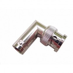 Calrad - 75-693 - Calrad Electronics 75-693 BNC Male to BNC Female Right Angle Adapter