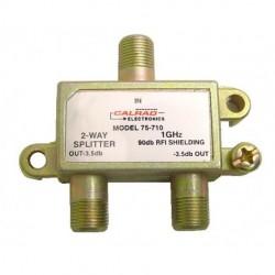 Calrad - 75-710 - Calrad 75-710 2-Way 1 GHz 90db Isolation Splitter w- F Connectors