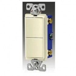 Cooper Wiring Devices - 7731W-BOX - Cooper Wiring Devices 7731W-BOX SW Deco Comb 3Way/3Way 15A 120/277V WH