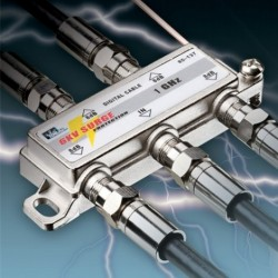 IDEAL Electrical / IDEAL Industries - 85-137 - Ideal 85-137 4-Way Surge Suppression Splitter